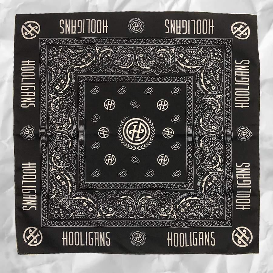 Hooligans kendő (fekete)