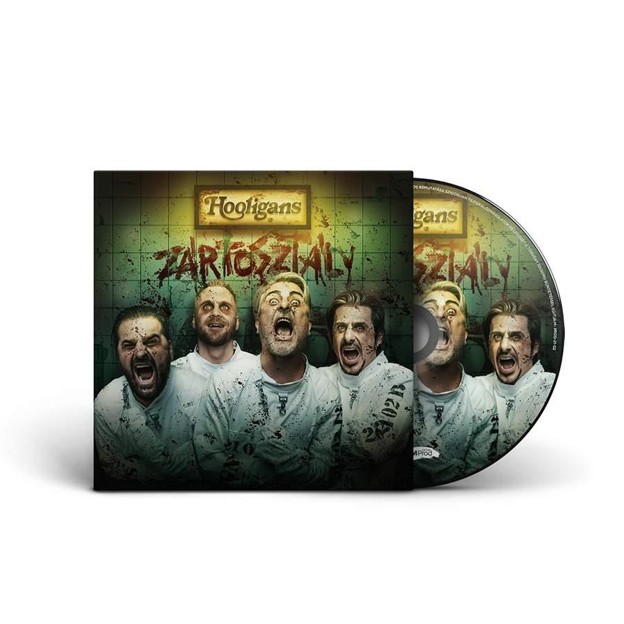 //2021// Hooligans - Zártosztály CD